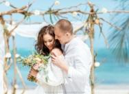 Свадьба на приватном пляже в стиле Бохо в Доминикане {Кристина и Иван}