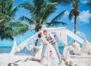 Нежная свадьба в пастельных тонах в Доминикане {Ксения и Александр}