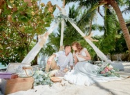Свадьба в Доминикане в стиле рустик на пляже Кариббеан {Екатерина и Артем}