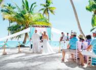 Свадьба на острове Саона и прогулка на катамаране {Виктория и Александр}