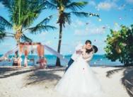 Свадьба в Доминикане на пляже Кариббеан {Ирина и Степан}