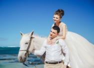 Нежная свадьба в Доминикане на пляже Кариббеан {Анастасия и Игорь}