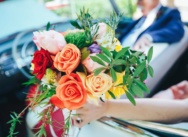 Тропическая свадьба с церемонией в церкви {Ким и Карлос}