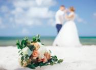 Красивая свадьба на частном пляже Колибри {Вика и Денис}