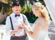 Красивая Свадьба на частном пляже в Доминиканской Республике {Barry&Szilvia}