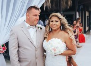 Свадьба и банкет в Доминикане в ресторане Capri Beach club {Эрика и Расс}