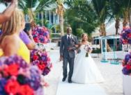 Свадьба и банкет в Доминикане, пляжный клуб Pearl Beach club — {Жакелин и Натан}