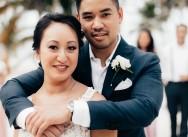 Свадьба и банкет в Доминиканской Республике, пляжный клуб Pearl Beach Club {Сара и Давид}