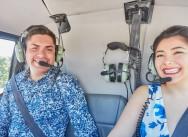 Предложение руки и сердца, вертолет в Доминиканской Республике {Пабло и Габриэлла}