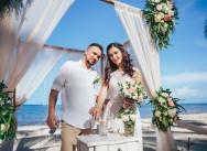 Свадьба в Доминиканской республике на пляже Колибри {Михаил и Наталья}