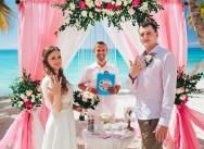 Свадьба в Доминикане на острове Саона {Лена и Андрей}