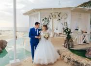 Свадьба в пляжном клубе Тракадеро в Доминиканской Республике {Надя и Антон}