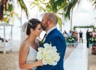 Свадьба в Доминикане с гостями {Фатима и Бурак}