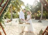 Свадьба на пляже Баунти в Доминиканcкой республике {Даша и Илья}