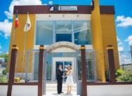 Официальная свадебная церемония в Доминикане в офисе у судьи