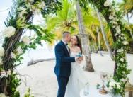 Свадьба в Доминикане на острове Саона {Виктория и Денис}
